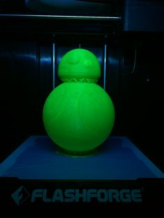 スターウォーズ   フォースの覚醒 BB-8 3Dプリンター Finder PLA フィラメントグリーン FLASHFORGE JAPAN