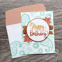 Welcome back to the 2015-2016 Stampin' UP Artisan Design Team Blog Hop!  I am so blessed that I get to create and inspire with these ama...