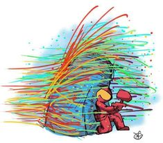 Paintball. I want to play paintball with a lot of my friends.