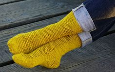 These simple rye knitted socks make for great gifts for the entire family. Great pattern for beginners to knitting socks - download pattern for FREE now ...
