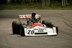 "f1-motor-und-sport: "" Jean-Pierre Beltoise, BRM P160E, 1973 Swedish GP, Anderstorp """