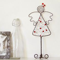 Wire Angel standing