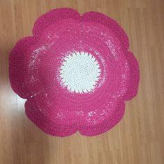 Tapete trapillo flor