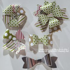 Gift Bows2 Gift Bow Bigz Die