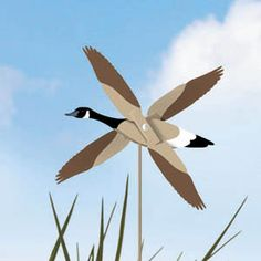 Canadian Goose Whirligig « WoodProjects.com WoodProjects.com