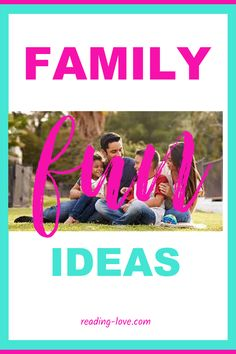 Check out the family fun ideas that will be bring lasting memories for you and your family! Your kids will love these quick activities and easy to prepare (or no preperation)!!! #familyfunideas… More