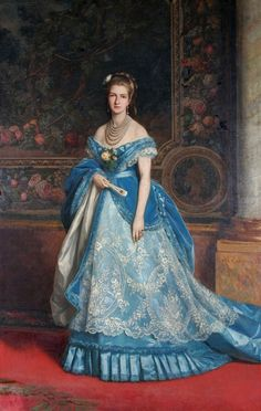 Queen Margherita of Italy, by Michele Gordigiani, 1879