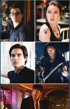 Mortal Instruments... I've been obsessed with the shadowhunters world since book one... it is a wonderful thing :)