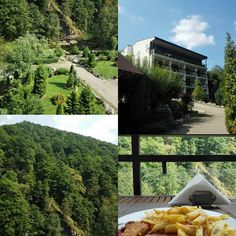 """Out of all the restaurant I visited lately none has such an amazing view as the """"Pensiunea Retezat"""" hotel! The food is great too! Must visit must stop!  #travel #Romania #retezat #mountains #view #awesome #bookingcom #amazing #great #nature #mountainside #beautiful #great  #nice #garden #nofilter #traveler #instatravel #travelgram #ILoveToTravel #letsgosomewhere #wekend"""