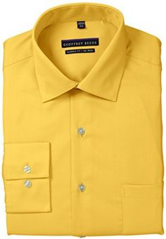 Geoffrey Beene Men's Long-Sleeve Regular-Fit Solid Shirt on shopstyle.com