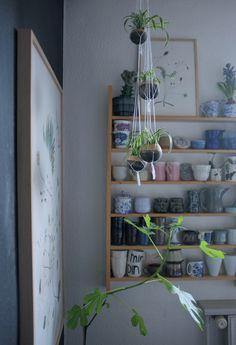 Billedresultat for plantehænger væg