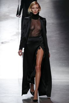 Anthony Vaccarello Autumn/Winter 2014-15 Ready-To-Wear. Paris Fashion Week