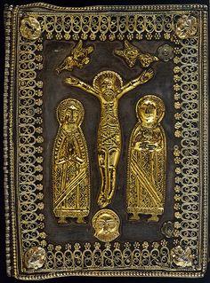 The Four Gospels. - caption: 'Binding' | ID: 027327 Title: The Four Gospels…