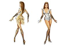 Behold: Thierry Mugler's 'Sasha Warrior' Costumes for Beyoncé ...