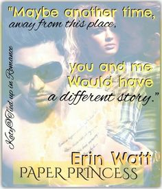 PAPER PRINCESS by Erin Watt: Art made by Katy.