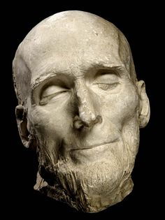 Death Mask of Hiram Powers, 1873, by Thomas Ball, who carefully preserved his friend's naturally calm expression, suggesting that he met death peacefully. Description from pinterest.com. I searched for this on bing.com/images