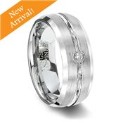 Tungsten Affinity's stylish and long lasting brushed wedding bands are perfect for men and women. Explore our brushed finish tungsten ring selection. Mens Wedding Rings Tungsten, Tungsten Carbide Rings, Cz Wedding Bands, Rings For Men, Stone, Vow Renewals, Gem, Jewlery, Child