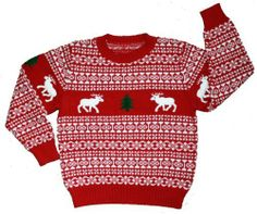 Ugly Christmas Sweaters for Babies and Toddlers