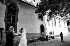 Wenn Braut und Vater einen Moment für sich haben. Diese italienische Hochzeit war einfach rührend.
