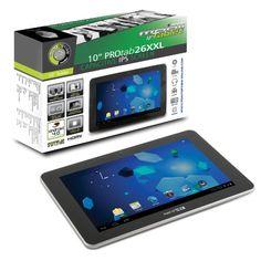 Point of View ProTab 26 XXL - Tablet de 10 pulgadas (Android 4.0, 8 GB, wifi, 1.2 GHz), color negro (importado) B0094AKAHA - http://www.comprartabletas.es/point-of-view-protab-26-xxl-tablet-de-10-pulgadas-android-4-0-8-gb-wifi-1-2-ghz-color-negro-importado-b0094akaha.html