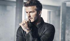 David Beckham looking dapper...