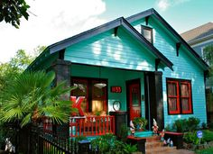 Drive around the Houston Heights area and look at all the darling cottages, bungalows and restored Victorian homes.  Just 4 miles north of downtown, this welcoming neighborhood has great vintage & thrift store shopping and restaurants with a definite small town feel in the center of a city of more than 4 million people.  Love it.