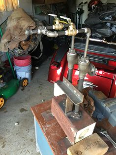 My new propane forge Metal Projects, Welding Projects, Projects To Try, Diy Forge, Forge Burner, Propane Forge, Power Hammer, Welding Shop, Induction Heating
