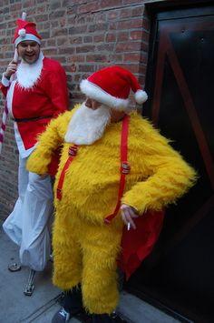 8342187136dd 31 DIY Costume Ideas To Rock For SantaCon. Santa RampageSaint NickElf ...