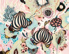 Spree print by Yellena James | - Grass Hut