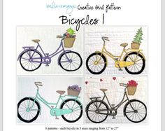 Bicycles Pattern - Digital Download