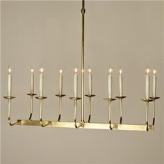 Upscale Chandelier-  10 Lt. (4 Finishes!)