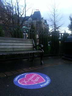 Have you seen our designated kissing spots? The perfect detour on Valentine's Day #heartVICTORIA #Valentine #Valentine'sDay #love | www.tourismvictoria.com