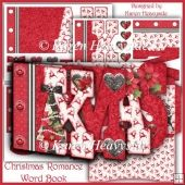 Christmas Romance Word Book 1 Tri Fold Cards, Slider Cards, Pocket Cards, Folded Cards, Stepper Cards, Wine Bottle Tags, Bead Embroidery Patterns, Shaped Cards, Tent Cards
