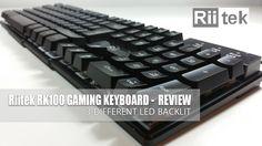 Rii RK100 Gaming Keyboard 3 LED backlit - Review Computer Keyboard, Gaming, Led, Video Games, Keyboard, Games, Game