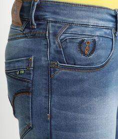 Wrangler Men's Regular Fit Jeans - Zander - 36 X 29 Denim Jeans Men, Jeans For Men, Work Jeans, Denim Fashion, Jeans Style, Indigo, Skinny, Zara, Levis
