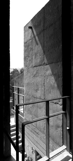 Palais des Filateurs, Ahmedabad India | Le Corbusier | Photo : Cemal Emden