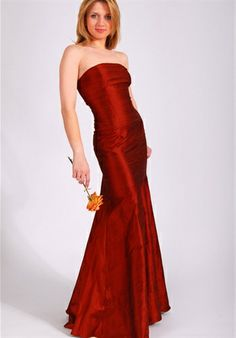 Bridemaids Dress by Elizabeth St. John  Another beautiful Red and style of dress
