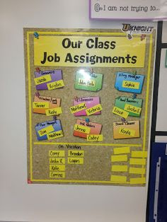 Jobs Posted in the Classroom