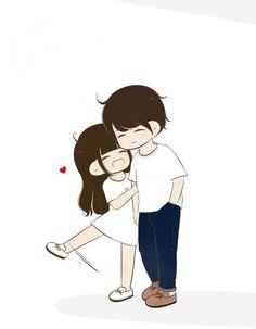 Cute couple cartoon, chibi couple, anime love couple, cute anime couples, c Cute Couple Pictures Cartoon, Cute Couple Comics, Cute Couple Drawings, Cute Couple Art, Anime Love Couple, Cartoon Pics, Cute Cartoon Wallpapers, Cute Anime Couples, Cute Drawings