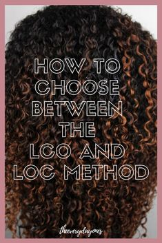Looking to grow your natural hair? Are you struggling to retain length? Don't know whether to choose between the LCO vs the LOC method? Here's what you need to know to grow your natural hair! Natural Hair Wedding, Deep Conditioner For Natural Hair, Natural Hair Treatments, Natural Hair Types, Tapered Natural Hair, Best Natural Hair Products, Natural Hair Tutorials, Natural Hair Braids, Dyed Natural Hair