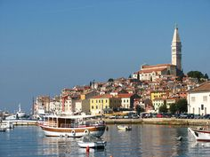 Rovinjo, Croatia  Ancient town only 2 hours drive from Venice. Soooo beautiful.