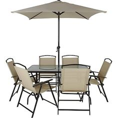 Miami 8 Piece Patio Set