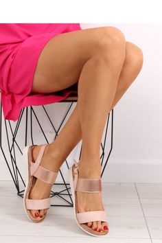 21bc244182f Σουέντ ψηλοτάκουνα πέδιλα - Φούξια | Πέδιλα | Heels, Fashion, High heels