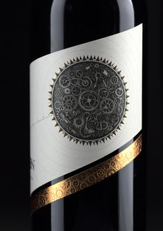 Precision — The Dieline - Branding & Packaging (Bottle Packaging Paper) Food Packaging Design, Beverage Packaging, Bottle Packaging, Brand Packaging, Coffee Packaging, Wine Bottle Design, Wine Label Design, Design Package, Creative Package Design