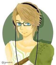 Hipster Link, by グレア ( @gurea1212 )
