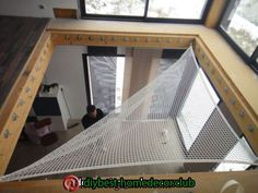Boys Bedroom Decor, Girl Bedroom Designs, Small Space Interior Design, Interior Design Living Room, Pool Table Room, Indoor Hammock, Casas Containers, Attic Rooms, Tiny House Design