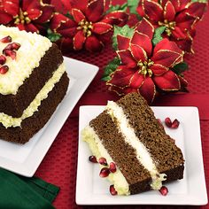 Paleo Gingerbread Cake and Maple Cream Cheese Frosting - Paleo Fondue
