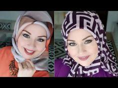 EID Tutorial Hijab 2018 - Part 6 - لفات حجاب للعيد - Tesettür Çanta Modelleri 2020 - Tesettür Modelleri ve Modası 2019 ve 2020 Simple Hijab Tutorial, Hijab Style Tutorial, Muslim Beauty, Muslim Dress, Fashion 2020, Eid, Hijab Fashion, Clothes For Women, School Frame