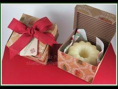 Mini Bundt Cake Christmas Box - YouTube