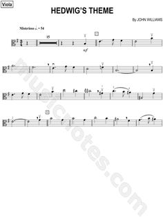 """""""Hedwig's Theme"""" from 'Harry Potter and the Goblet of Fire' Sheet Music - Download & Print"""